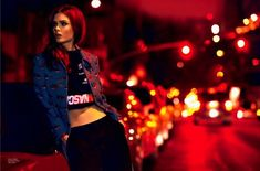 Brooklyn at Night Editorial for Elle Brazil January 2014