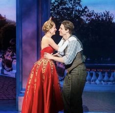Anya and Dmitry❤️ Anastasia Broadway, Anastasia Dress, Anastasia Musical, Broadway Plays, Broadway Shows, Christy Altomare, Heathers The Musical, Romanogers, Broken Leg