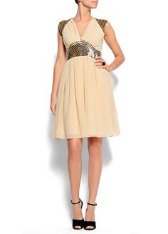 MANGO - OUTLET - Vintage style dress