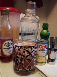 Plantar's Punch Tiki Recipe Ingredients