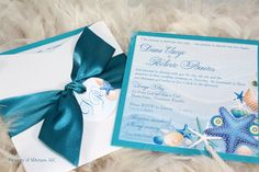 Beautiful Sea Shells and Starfish Beach/Destination by SDezigns, $7.50. THEY PRINT. $ FOR EXTRAS SHOWN HERE (Ribbon, etc)