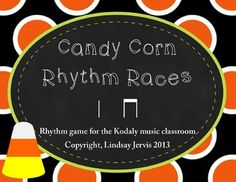 This set includes great activities for practicing long/short or ta/titi. Rhythm Races - 4 teams race to find the correct rhythms. Which team will. Music Activities, Music Games, Music Music, Music Stuff, Elementary Music Lessons, Piano Lessons, Music Classroom, Classroom Ideas, Halloween Music
