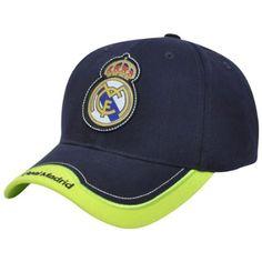 7b60dedfba5 Real Madrid CF Neon Yellow Rhinox Sun Buckle Espana Spain Gorra La Liga Hat  Cap