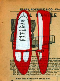 red shoes, jordan grace