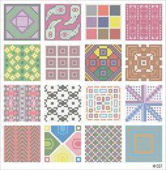 free cross stitch patterns | ... Photo Album | Photos of Projects | Free Cross Stitch Pattern A-Z Index