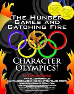 Hunger Games & Catching Fire Character Olympics Lesson Activity - Great way to incorporate the Olympic Games into your Hunger Games, Catching Fire, or Mockingjay unit. $