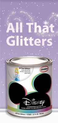Disney specialty finishes awesome painting ideas made easy - 1000 Ideas About Glitter Paint Walls On Pinterest