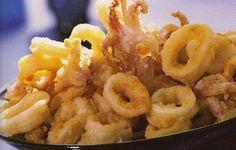 calamares fritos tapa españa