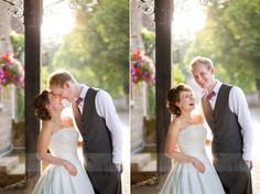 Save time for photographs in the early evening sunshine during the golden hour : Mirror Imaging Photography: Laura & Nick's Stamford & Lincs Wedding
