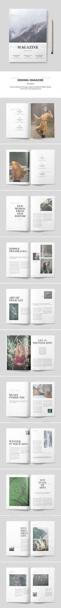 Magazine Template - Magazines Print Templates Download here: https://graphicriver.net/item/magazine-template/19922628?https://graphicriver.net/item/magazine-template/19871576? ref=classicdesignp