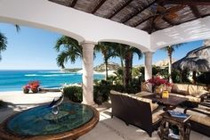 Waves Bow Down To This Los Cabos Oceanfront Estate Upon Entering Casa