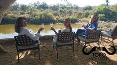 Enjoying a relaxing drink after a wonderful day on safari! River Lodge, World Water Day, Girls Time, Great Life, Outdoor Furniture Sets, Outdoor Decor, High Tea, Beautiful Day, Safari