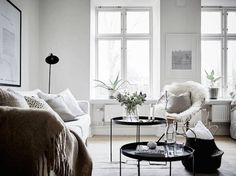 A small Swedish space in winter whites