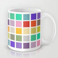 multicolored squares...  iphone rainbow