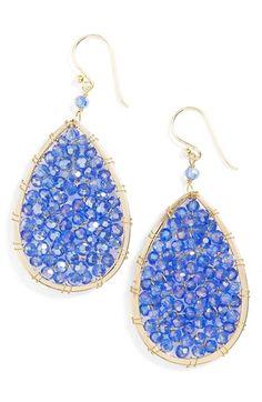 Panacea Crystal Teardrop Earrings available at #Nordstrom