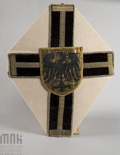 Krzyż wielkiego mistrza krzyżackiego zrobiony wg projektu Matejki (z Kroniki Długosza)
