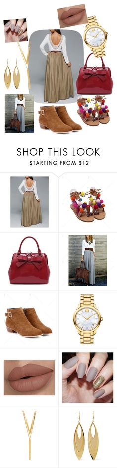 """""""Untitled #83"""" by guerline011 ❤ liked on Polyvore featuring Movado, BERRICLE and Kenneth Jay Lane"""