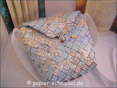 Flechttaschen   Papierschnipsel