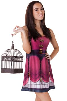 An A-Line with an elegant steampunk twist guaranteed to transport you back to the Victorian era (Well not really, but it sure will feel like it! Living Dead Clothing, Future Fashion, Geek Chic, Line, Dress Skirt, My Style, Pretty, Skirts, Aud