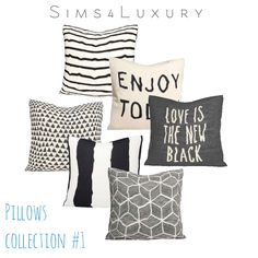 Sims 4 CC's - The Best: Pillows by Sims4Luxury