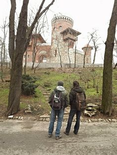 A recreation of Vlad's castle at Poienari. But this one is in Bucharest and it was made in 1906 by Carol I of Romania.