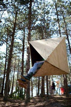 Kunstzinnig kamperen op Urban Campsite