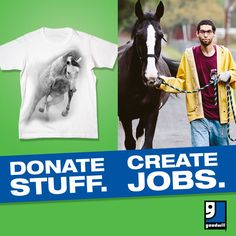 Donate Stuff, Create Jobs.  Find a Goodwill Donation Center near you: http://www.yourgoodwill.org/shop/stores-donation-centers/  Goodwill Keystone Area is a local nonprofit, your tax-deductible donations of gently used clothing & housewares help local community members like Jeremias. Read his Goodwill Success Story here: http://www.yourgoodwill.org/learn/mission/180-jeremias-it-s-a-privilege-to-work