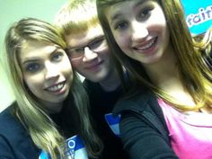 Katy, Zach and Carly after the Steak Dinner Fundraiser on 1/13/2013 at City View Church.