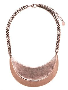 crescent plate necklace from BaubleBar