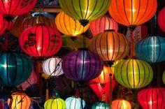Travel Photography Inspiration Project: Vietnam-Silk Lanterns by Sebastien Miesch- Vietnamese culture