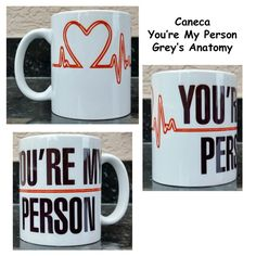 Caneca Grey's Anatomy My Person