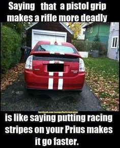 Mechanic Humor Liberal Logic Waffen Common Sense Racing Stripes Sayings Ault