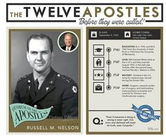 Russell M. Nelson Before He was an Apostle (Mormon Report on LDSLiving.com)