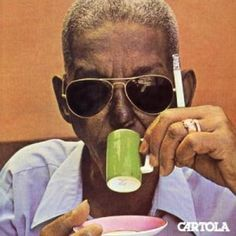 The great Cartola. Cartola – was a Brazilian singer, composer and poet considered to be a major figure in the development of samba. Cartola composed, alone or with partners, more than 500 songs. Samba, Cd Cover Art, Vinyl Cover, Lp Cover, Mixtape, Lps, Beatles, Musica Disco, Ingo Maurer