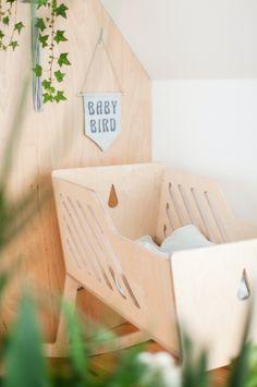 Plywood cradle