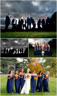 Wedding at Locko Park Derbyshire group shots, off camera flash, strobist, epic wedding photography