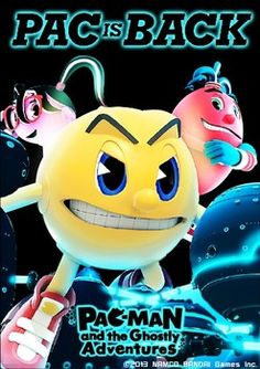 Glow-In-The-Dark 'PAC-MAN and the Ghostly Adventures' Poster gift Offer for game release date.
