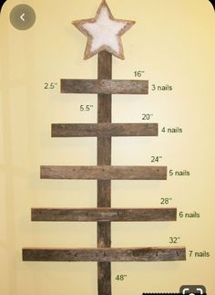 A Keepsake Christmas Decoration! How to make a wall mounted advent calendar. Learn how fun and simple it is to build a wall mounted advent calendar for your family. Pallet Christmas Tree, Diy Christmas Gifts, Rustic Christmas, Christmas Art, Christmas Projects, Christmas Holidays, Christmas Decorations, Christmas Ornaments, Christmas Calendar