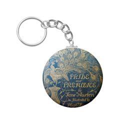 Pride & Prejudice Peacock Key Chain