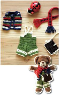 Dress-up your bear free pattern PDF download