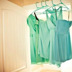 My Mismatched bridesmaid's dresses :) Mismatched Bridesmaid Dresses, Bridesmaids And Groomsmen, Wedding Bridesmaids, Wedding Dresses, Wedding 2015, Wedding Wishes, Dream Wedding, Wedding Colours, Pretty Dresses