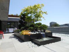 garten mit einem luxus schwimmpool gestalten - Wasser im Garten ...