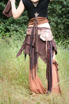 Leather skirt - Elven