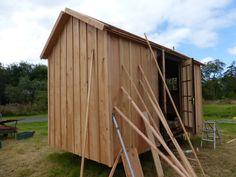 Shepherds Hut, Douglas Fir, Shed, Construction, Outdoor Structures, Building, Barns, Sheds