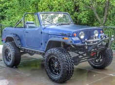 So damn sexy. Check out this 1971 jeepster from @offroad_addictions  http://ift.tt/1oTET15  #jeep #jeeplife #instajeepthing #fuelwheels by instajeepthing