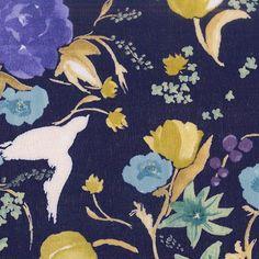 Nani Iro Kokka Japanese Fabric Fuccra : rakuen  Atami  50cm