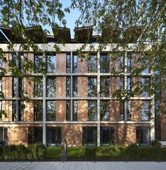 St Antony's College / Bennetts Associates Architects
