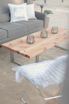 Cedar Modern Coffee Table