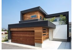 Another lovely modern house -- I told you I love them! The wood detail on this…