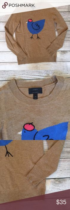 J. Crew French Hen Sweater Merino wool/nylon/cashmere blend. Long sleeves. Excellent condition. NO TRADES/NO MODELING J. Crew Sweaters Crew & Scoop Necks